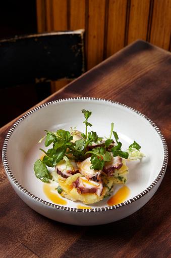 Vinaigrette Dressing「Spanish Octopus Dish」:スマホ壁紙(15)