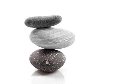 積み上げる「スタック式石」:スマホ壁紙(6)