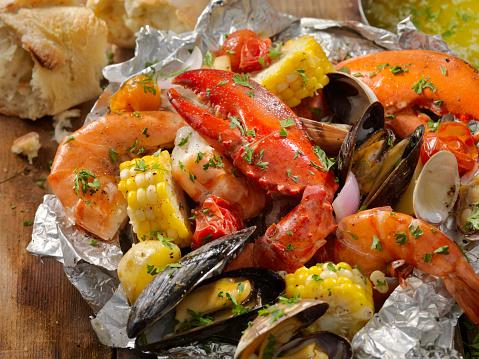 Lobster - Seafood「Tin Foil Wrapped Shellfish」:スマホ壁紙(19)