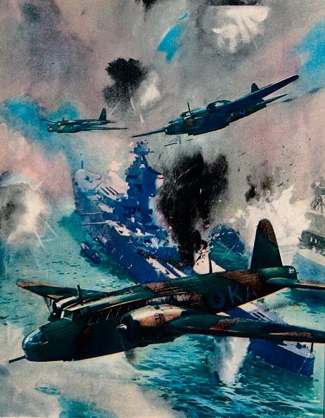 Wind「The first British air aggressive action of the war, the raid on Kiel, 1940.」:写真・画像(18)[壁紙.com]