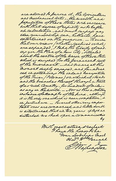 Autograph: George Washington, 1793.:ニュース(壁紙.com)