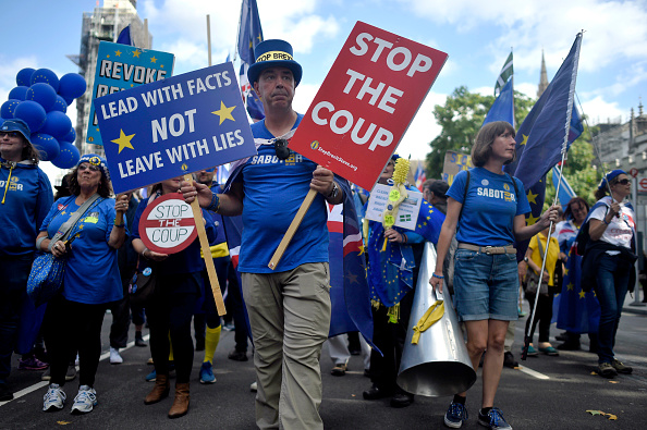 Brexit「No. 10 And Parliament Face Off Over Vote To Stop No-Deal Brexit」:写真・画像(11)[壁紙.com]