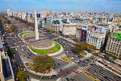 Avenue「Widest avenue in the world, Buenos Aires,」:スマホ壁紙(5)