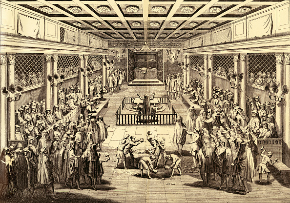 Netherlands「'Purim Ceremonies in the Synagogue at Amsterdam (From the Amsterdam Edition of Calmet Printed in 1731」:写真・画像(16)[壁紙.com]