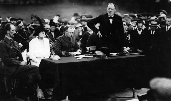 1910-1919「Churchill Addressing」:写真・画像(6)[壁紙.com]