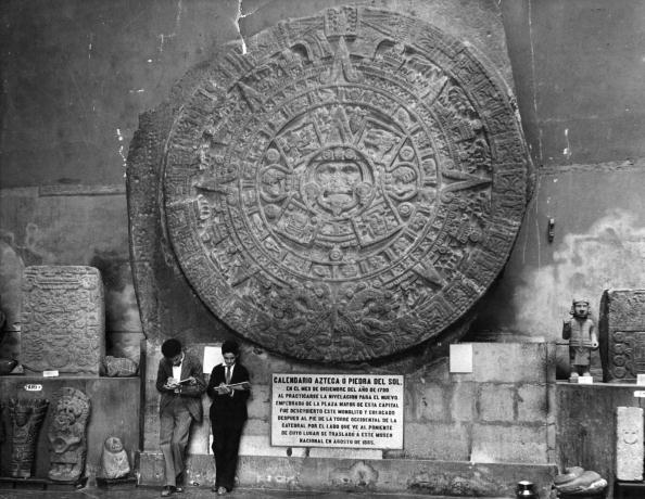 カレンダー「Aztec Calender」:写真・画像(2)[壁紙.com]