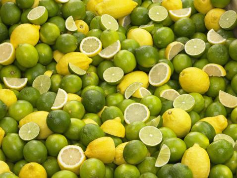 Chemical「Lime and Lemon Background」:スマホ壁紙(4)