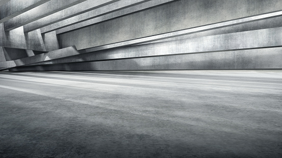 Concrete「Underground carpark」:スマホ壁紙(15)