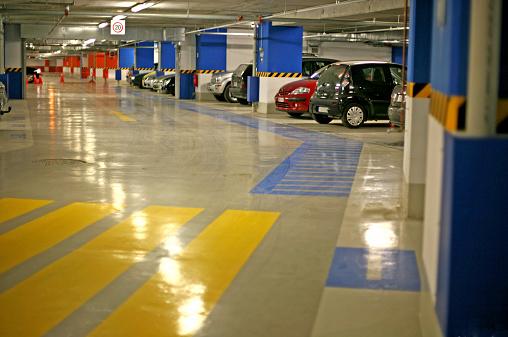 Basement「Underground parking garage」:スマホ壁紙(18)