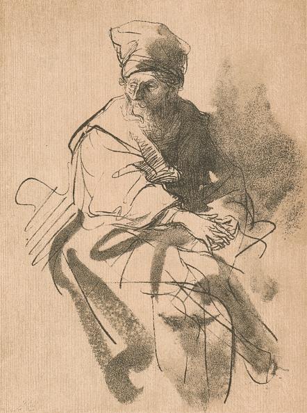 Shadow「A Study, 17th century, (1906). Artist: Rembrandt Harmensz van Rijn」:写真・画像(0)[壁紙.com]