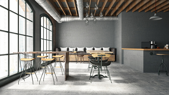 Template「Cafe Interior」:スマホ壁紙(8)
