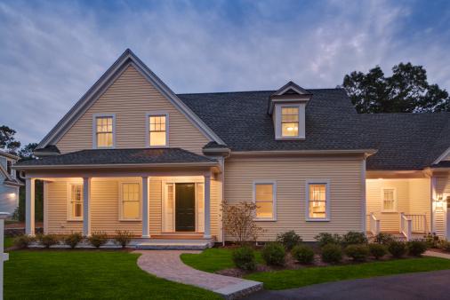 Massachusetts「Classic American home」:スマホ壁紙(7)