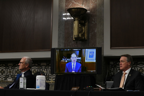 Daniel Gi「Senate Armed Services Committee Holds Nominations Hearing For National Security Positions」:写真・画像(8)[壁紙.com]