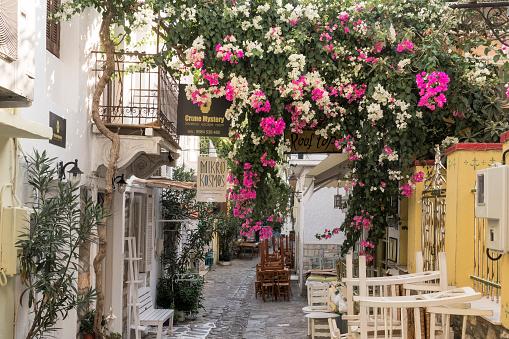 Aegean Sea「Old Port Skiathos island, Sporades, Greece」:スマホ壁紙(9)