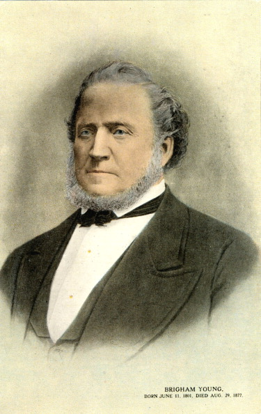 1850-1859「Brigham Young - US Mormon leader and founder of Salt Lake City in Utah.」:写真・画像(3)[壁紙.com]