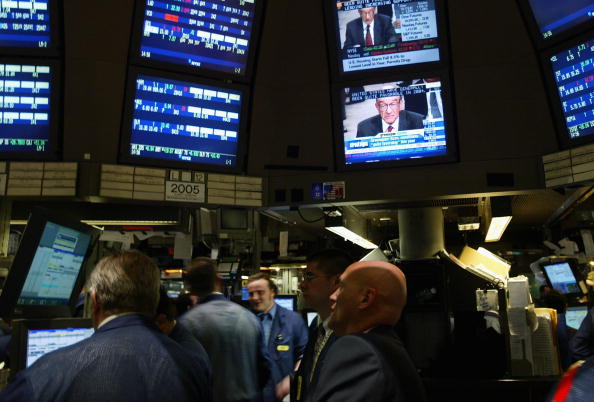 Dow Jones Industrial Average「Financial Markets React To Greenspan Testimony」:写真・画像(18)[壁紙.com]