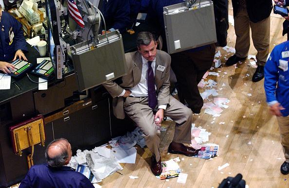 Dow Jones Industrial Average「Stocks Mixed Again On Wall Street」:写真・画像(1)[壁紙.com]