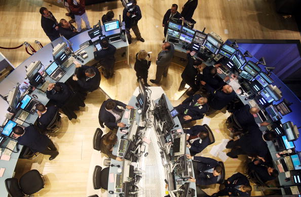 Construction Industry「New York Stock Exchange Debuts Renovated Trading Floor」:写真・画像(19)[壁紙.com]