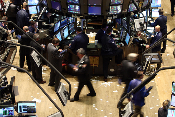 Dow Jones Industrial Average「Markets Rally On News Of Citigroup Bailout Plan」:写真・画像(14)[壁紙.com]