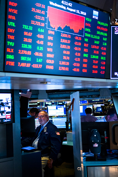 ビジネスと経済「Stocks Continue To Fall On Trade Worries」:写真・画像(18)[壁紙.com]