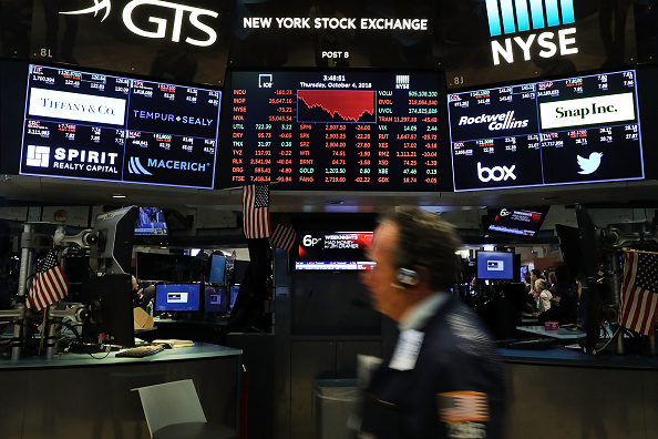 Financial Occupation「Dow Jones Industrials Average Falls Over 200 As Interest Rates Rises」:写真・画像(1)[壁紙.com]