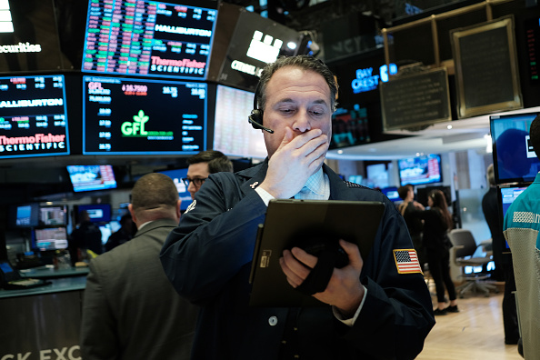 Trader「Dow Resumes Downward Plunge After One Day Of Gains For The Market」:写真・画像(15)[壁紙.com]