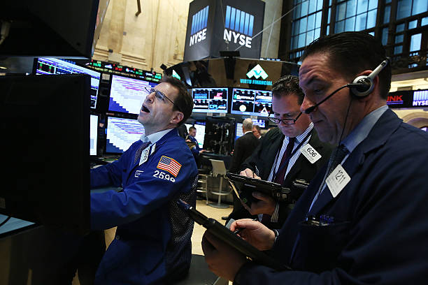 New York Stock Exchange Opens After A Weak January:ニュース(壁紙.com)