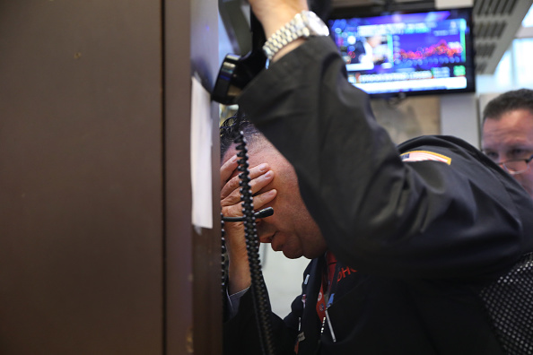 Economy「A Turbulent U.S. Stock Market Opens For Trading For The Week」:写真・画像(3)[壁紙.com]