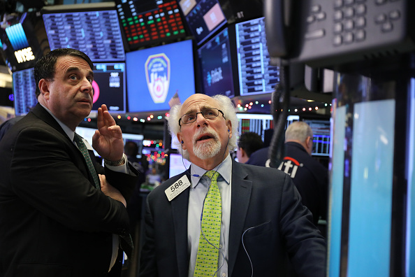 New York Stock Exchange「U.S. Markets Open After Another Day Of Heavy Sell-Offs」:写真・画像(9)[壁紙.com]