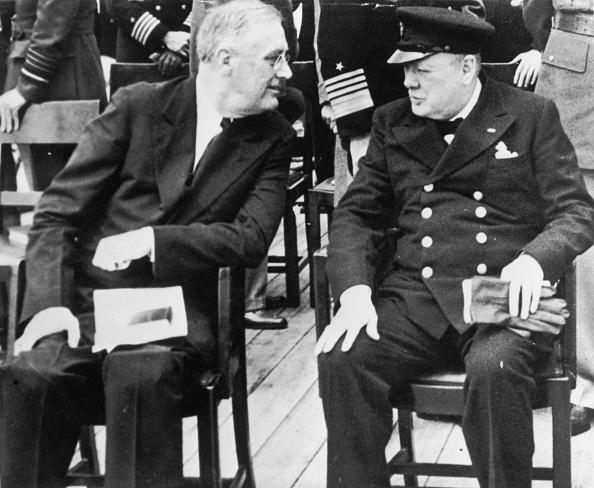 Franklin Roosevelt「FDR And Churchill」:写真・画像(9)[壁紙.com]