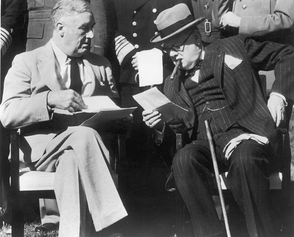 Franklin Roosevelt「Casablanca Meeting」:写真・画像(15)[壁紙.com]