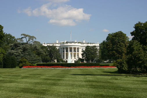 Government Building「American president's home : The White House, Washington D.C.」:スマホ壁紙(4)