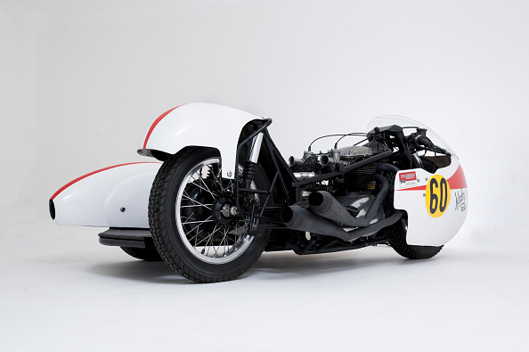 Finance and Economy「1964 Kirby Bsa Sidecar Outfit.」:写真・画像(4)[壁紙.com]
