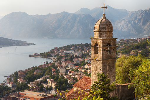 Monastery「Kotor Cityscape and Church of Our Lady of Remedy」:スマホ壁紙(17)