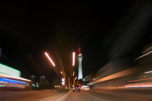 Boulevard「Las Vegas Boulevard at night」:スマホ壁紙(19)
