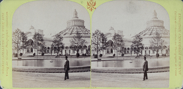 Architectural Feature「Vienna World Exhibition 1873. The Rotunde. Verlag Der Wiener Photographen-Association. Stereophotographie」:写真・画像(6)[壁紙.com]
