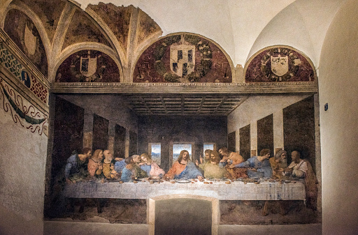 Fresco「The Last Supper, Milan, Italy」:スマホ壁紙(16)
