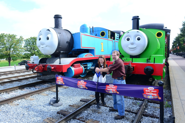 Lisa Lake「Day Out With Thomas: The Thrill Of The Ride Tour 2014 Goes Green As Thomas The Tank Engine's Best Friend Percy Makes North American Debut」:写真・画像(1)[壁紙.com]