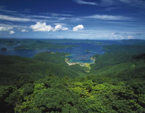 大島海峡「Oshima strait, Kagoshima Prefecture, Kyushu, Japan」:スマホ壁紙(0)