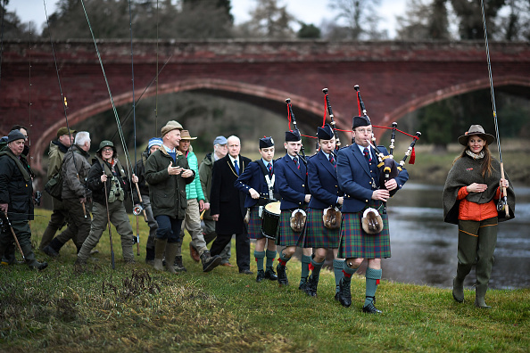 Recreational Pursuit「Salmon Fishing Season Begins On The River Tay」:写真・画像(2)[壁紙.com]