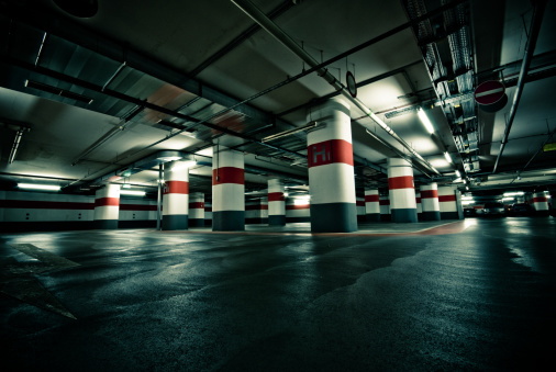 Abandoned「Empty Parking Garage」:スマホ壁紙(5)