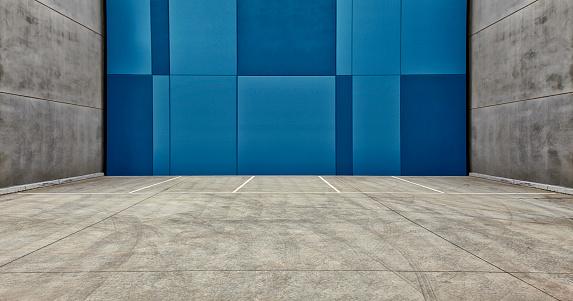 Concrete「Empty Parking Lot」:スマホ壁紙(11)