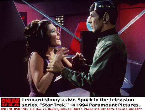 "Star Trek「Leonard Nimoy as Mr. Spock in the television series, ""Star Trek.""」:写真・画像(12)[壁紙.com]"