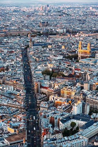 Boulevard「Paris city panoramme」:スマホ壁紙(5)