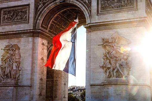 Arc de Triomphe - Paris「Paris city view - Arc de Triomphe」:スマホ壁紙(8)
