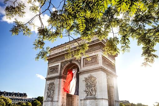 Arc de Triomphe - Paris「Paris city view - Arc de Triomphe」:スマホ壁紙(13)