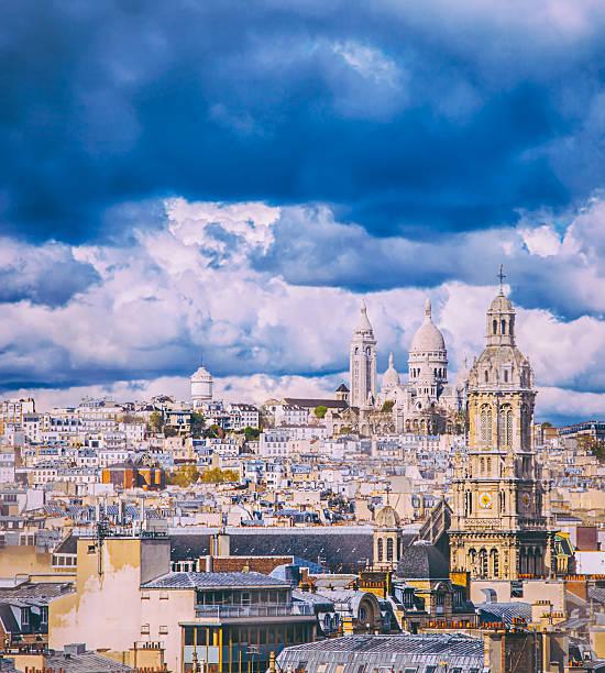 Paris City view:スマホ壁紙(壁紙.com)