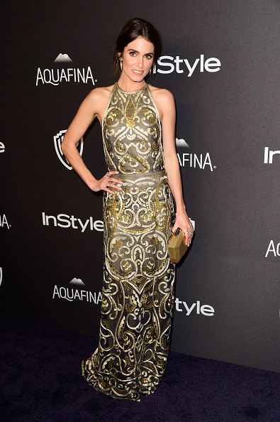 Metallic Dress「2016 InStyle And Warner Bros. 73rd Annual Golden Globe Awards Post-Party - Arrivals」:写真・画像(2)[壁紙.com]