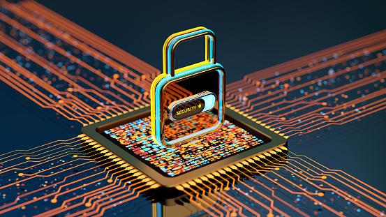 Internet of Things「Digital security concept」:スマホ壁紙(10)
