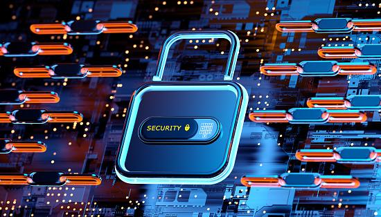 Internet of Things「Digital security concept」:スマホ壁紙(9)